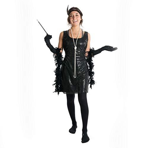 Bodysocks® 1920 Stil Damen Kleid Flapper (Medium)