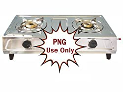 brightflame Luxmi 2 Burner Stainless Steel Gas Stove for PNG Customer