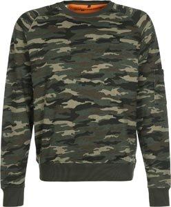 Alpha Industries Herren Sweatshirt woodl.-camo