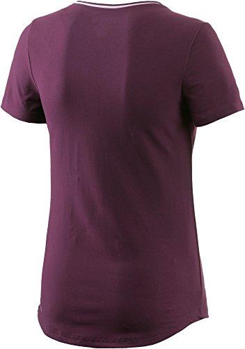 Reebok Damen Wor Sw Tee Shirt Violett/Pacprp