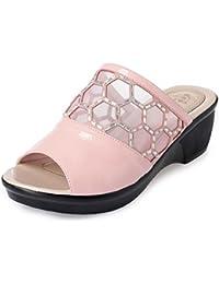 YMFIE Estate signora infradito all'aria aperta impermeabile anti-skid sandali con zeppa e pantofole sandali, 38...