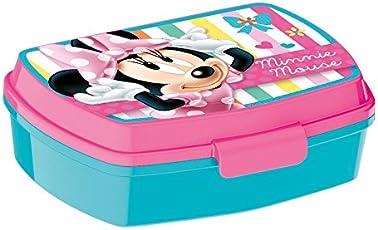 p:os 24347 Disney Minnie Mouse Brotdose, ca. 17 x 13,5 x 5,5 cm
