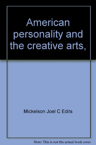 Title: American personality and the creative arts