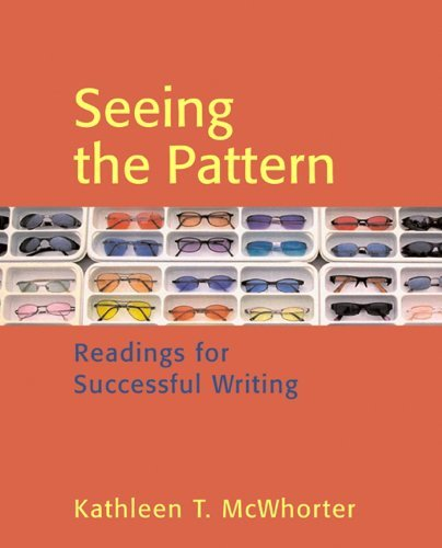 Seeing the Pattern, High School Binding by Kathleen T. McWhorter (2005-12-27) par Kathleen T. McWhorter