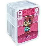 Schede di gioco NFC Tag per Animal Crossing, 24 pezzi Schede di gioco Nfc con custodia in cristallo compatibile con Nintendo