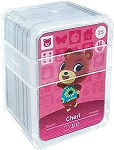 Schede di gioco NFC Tag per Animal Crossing, 24 pezzi Schede di gioco Nfc con custodia in cristallo compatibile con Nintendo Switch / Wii U(n. 25-n. 48)