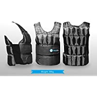 BodyRip Comfort Padded Deluxe 2.0 Weight Vest 5kg 10kg 15kg