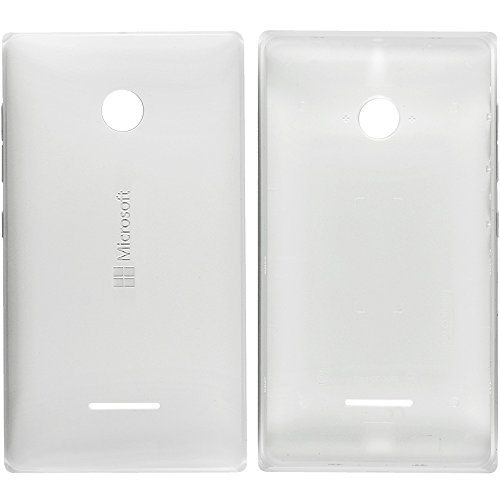 Original Microsoft Akkudeckel white / weiß für Lumia 532 (Akkufachdeckel, Batterieabdeckung, Rückseite, Back-Cover) - 02507V4