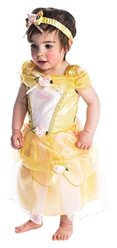 dress up Prinzessin Belle Baby/Kleinkind Kostüm, (Disney Belle Kostüme Kleinkind)