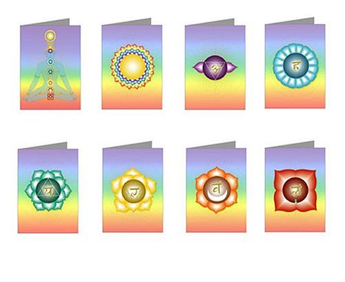 Rainbow Chakra Greeting Cards