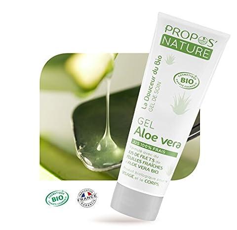 Gel d'Aloe vera Bio 100 ml