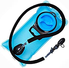 Add-Venture India 2 L Camel Water Hydration Bladder For Hiking Cycling With Lockable Bite Valve Wide Mouth And Insulated Hose