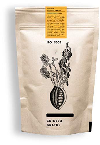 RAUWOLF RÖSTHAUS | Kaffeebohnen frisch geröstet | NO 3005 CRIOLLO GRATUS | voll & mild | 250g | darker roast (Espresso) | Single Origin | Brasilien | ganze Bohne