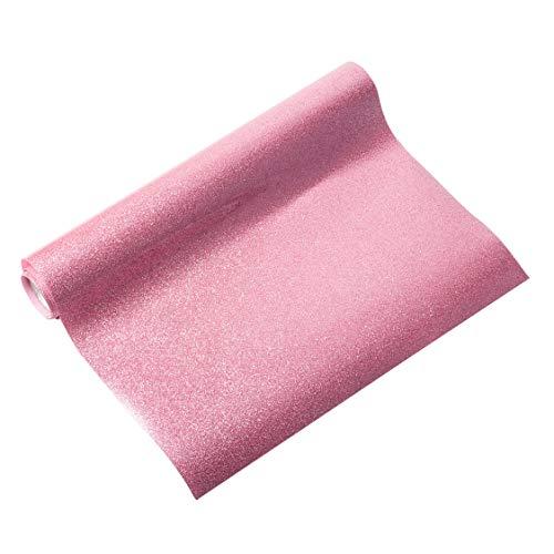 NBEADS 1 Rolle Glitzer Wärmeübertragung Vinyl-Papier Vinyl Transferfolie Für Diy T-Shirt, Kleidungsdekoration, Flamingo, 30,5 cm X 100 cm -