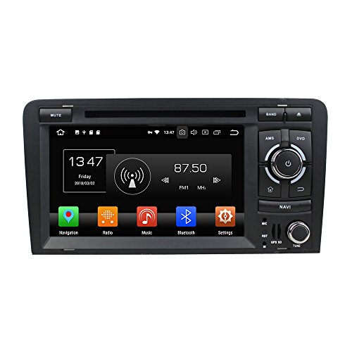 Kunfine Android 8.0 Octa Core Car DVD GPS Navigation Multimedia Player Car...