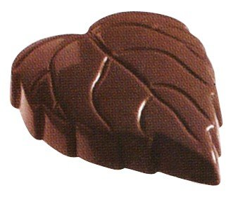 Silicone-Bakeware® Lot de 21 moules Professionnels à Chocolat en Silicone en Forme de Feuille, en Polycarbonate, Transparents, 27,5 x 13,5 x 2,4 cm