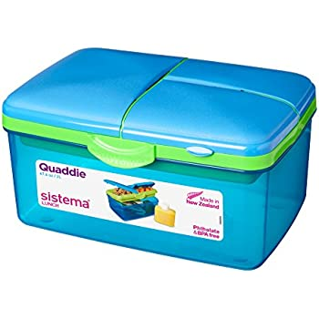 Sistema Lunch Quaddie, 2 L - Assorted Colours