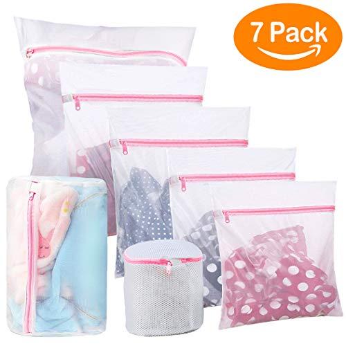 7 bolsas de lavado con cremallera para lavadora por 7,87€ ¡¡47% de descuento!!