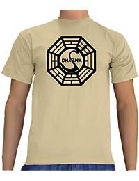 Touchlines Unisex T-Shirt Lost Dharma Logo