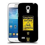 Head Case Designs Caution Fitness Motivation Ruckseite Hülle für Samsung Galaxy S4 Mini I9190