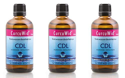 CurcuWid 3 x CDL/CDs Chlordioxid Fertiglösung 0,3% -