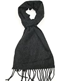 Lovarzi - Bufanda de lana para hombres y mujeres - bufandas invierno lujo unisex - Hecho en Italia