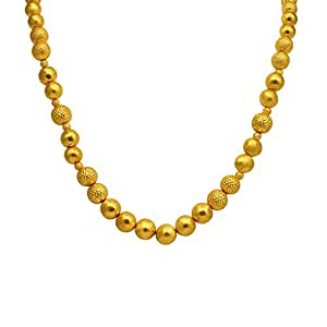 Joyalukkas Veda Collections 22k Oxidized Gold Necklace for Women