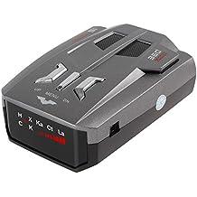 V9 Auto Geschwindigkeit Laser Radar Detektor Voice Alert Warnung LED Anzeige 16 Band für 12V Auto