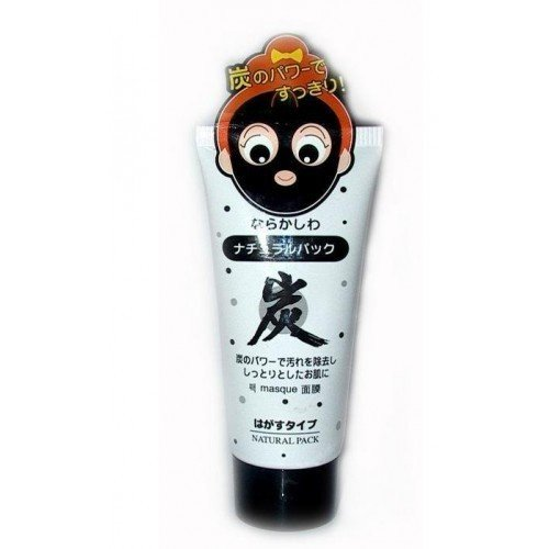Daiso Japan Natural Pack Charcoal Peel Off Mask 80g : 1 Tube