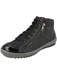 Amazon.fr   Chaussures Rieker - Cuir   Chaussures femme   Chaussures ... 8843b5743672