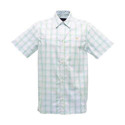 Regatta Delaware - Chemise à carreaux à manches courtes - Homme Neon Spring