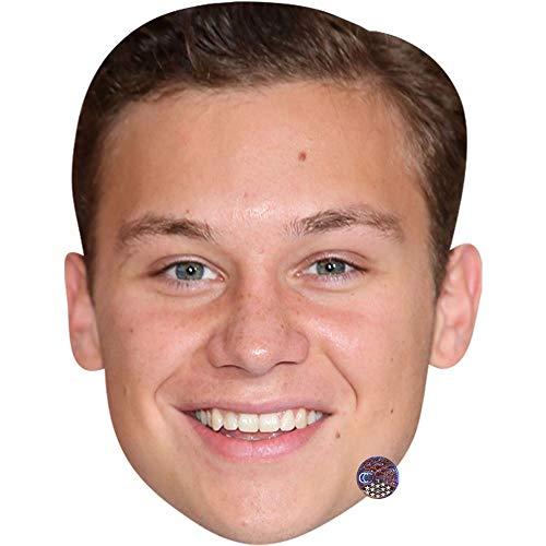 Finn Cole (Smile) Maske aus Pappe