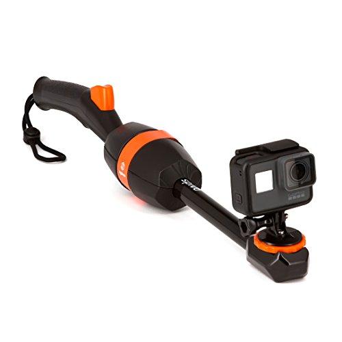 Spivo 360+ Buoy Floatation device Bundle per GoPro avventure. Impermeabile girevole bastone per qualsiasi camera GoPro