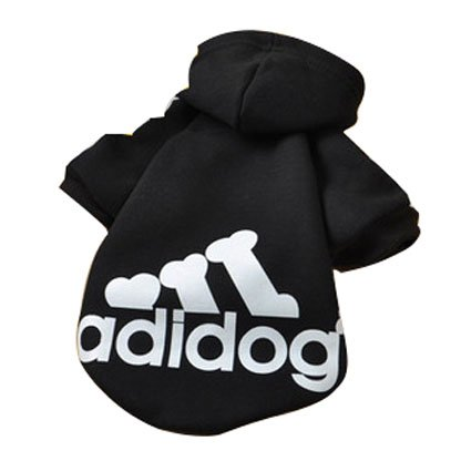Eastlion Adidog Pet Puppy Dog Cat Coat Clothes Hoodie Sweater Costumes