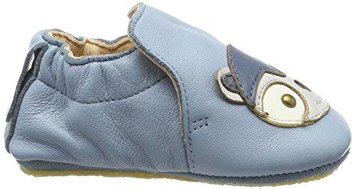 Easy Peasy Blublu Kitty, Chaussons pour enfant mixte bébé Bleu azur