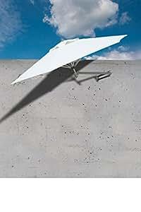 Paraflex Easysol Wall Mount Parasol Natural 2 5m