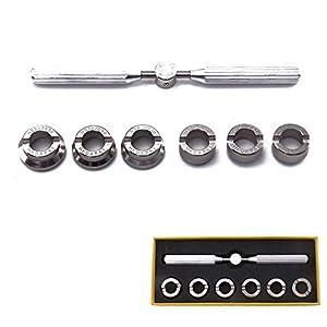 Allright Gehäuseöffner Uhr Uhrenöffner Rolex Uhrmacherwerkzeug zum Batteriewechsel Uhrmacher Werkzeug EIN Schraubenschlüssel Mit Sechs Gerillt Futter