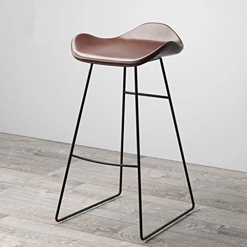 Flowing Water Bar-Stuhl Einfach Stil Kreative Multi-Funktion Coffee Shop Hohen Hocker Haushalt Firma Balkon Freizeit Stuhl,65Cm -