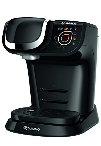 Bosch Tassimo My Way TAS6002GB Coffee Machine, 1500 watts, 1.2 Litres – Black