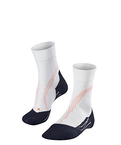 Falke Men's Stabilizing Cool Health Socks, White, Size 44-45