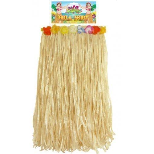 Para-mujer-chica-Hula-falda-de-hierba-de-Hawai-disfraz-de-80-cm-de-largo-38-40-42-44-EU