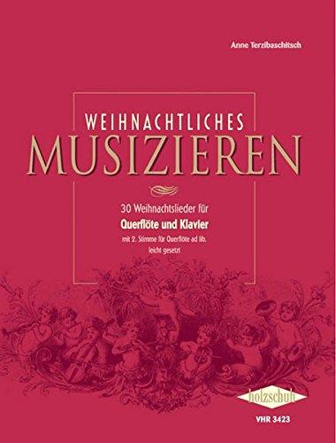 Weihnachtliches Musizieren, Querflöte und Klavier