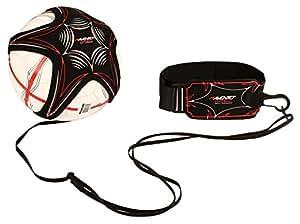 Avento Skills Fußballgewandtheitstrainer Black/Silver Grey/Red/White, One Size