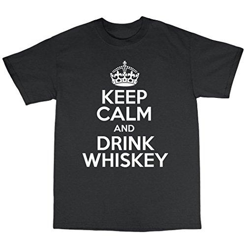 Drink Whiskey Single Malt Scotch T-Shirt 100% Premium Cotton - Blended Whiskey