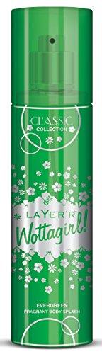 Layer\'r Wottagirl Classic Collection Evergreen Fragrant Body Splash, 135ml