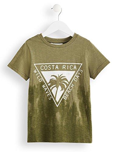 RED WAGON Jungen T-Shirt mit Costa Rica-Print, Grün (Green), 122 (Herstellergröße: 7 Jahre)