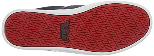 Supra STACKS II, Sneakers basses homme Grau (DARK GREY / RED - WHITE 031)