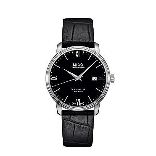 mido-baroncelli-si-homme-40mm-bracelet-cuir-boitier-acier-inoxydable-automatique-montre-m02740816058
