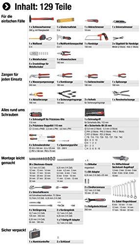 Meister Werkzeugkoffer 129-teilig - 3