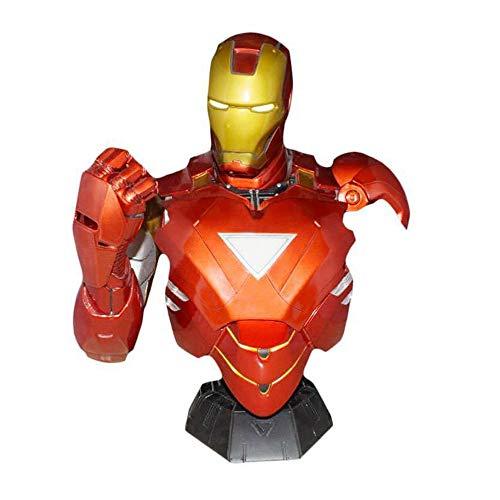 Xiao Jian- Iron Man Character Model 1: 2 Skulptur Büste Büste Kinderspielzeug, Home Dekorationen - Harz Spielzeugmodell